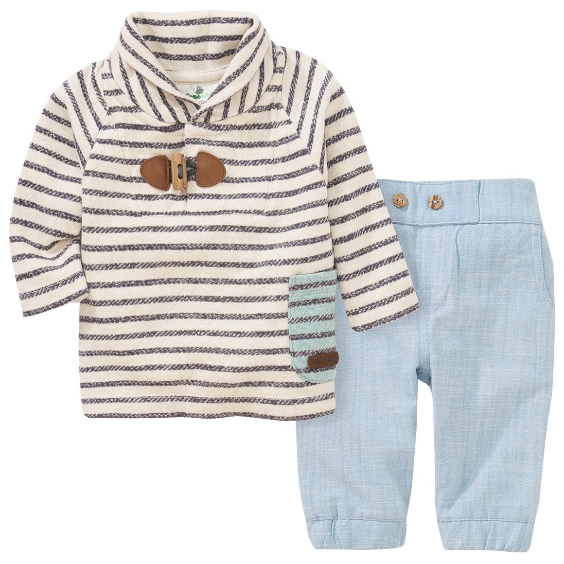 Babysets - Newborn Sweatshirt und Hose im Set - Onlineshop Ernstings family