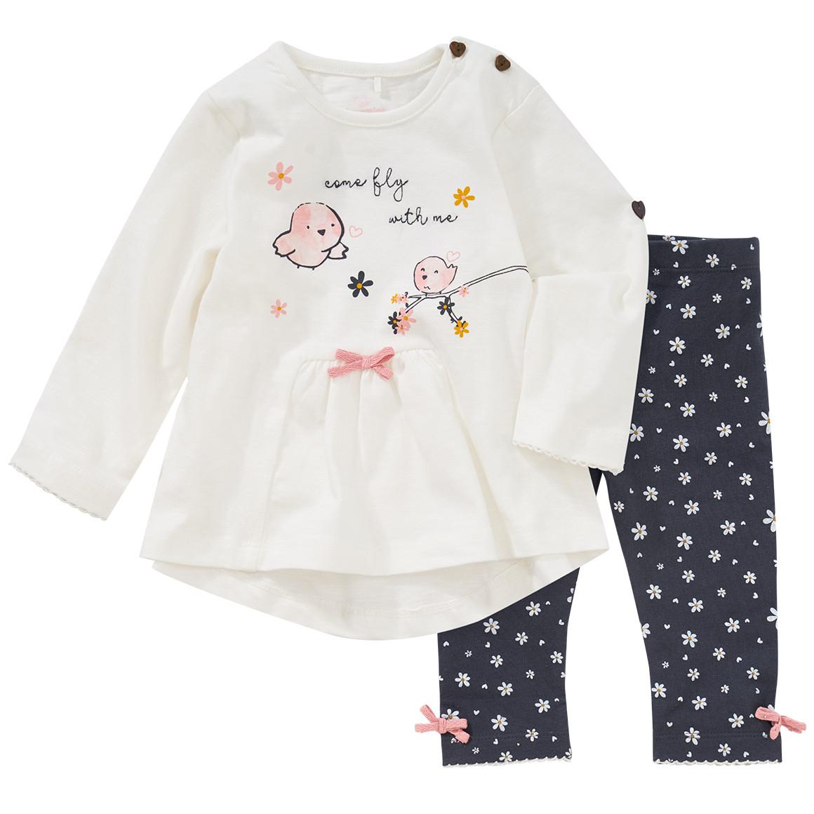 Babysets - Baby Langarmshirt und Leggings im Set - Onlineshop Ernstings family