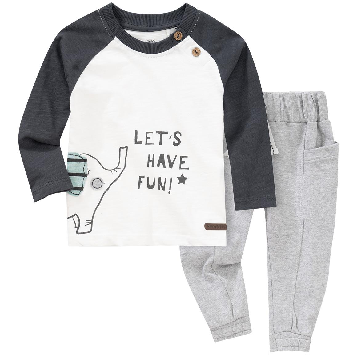 Babysets - Baby Langarmshirt und Jogginghose im Set - Onlineshop Ernstings family