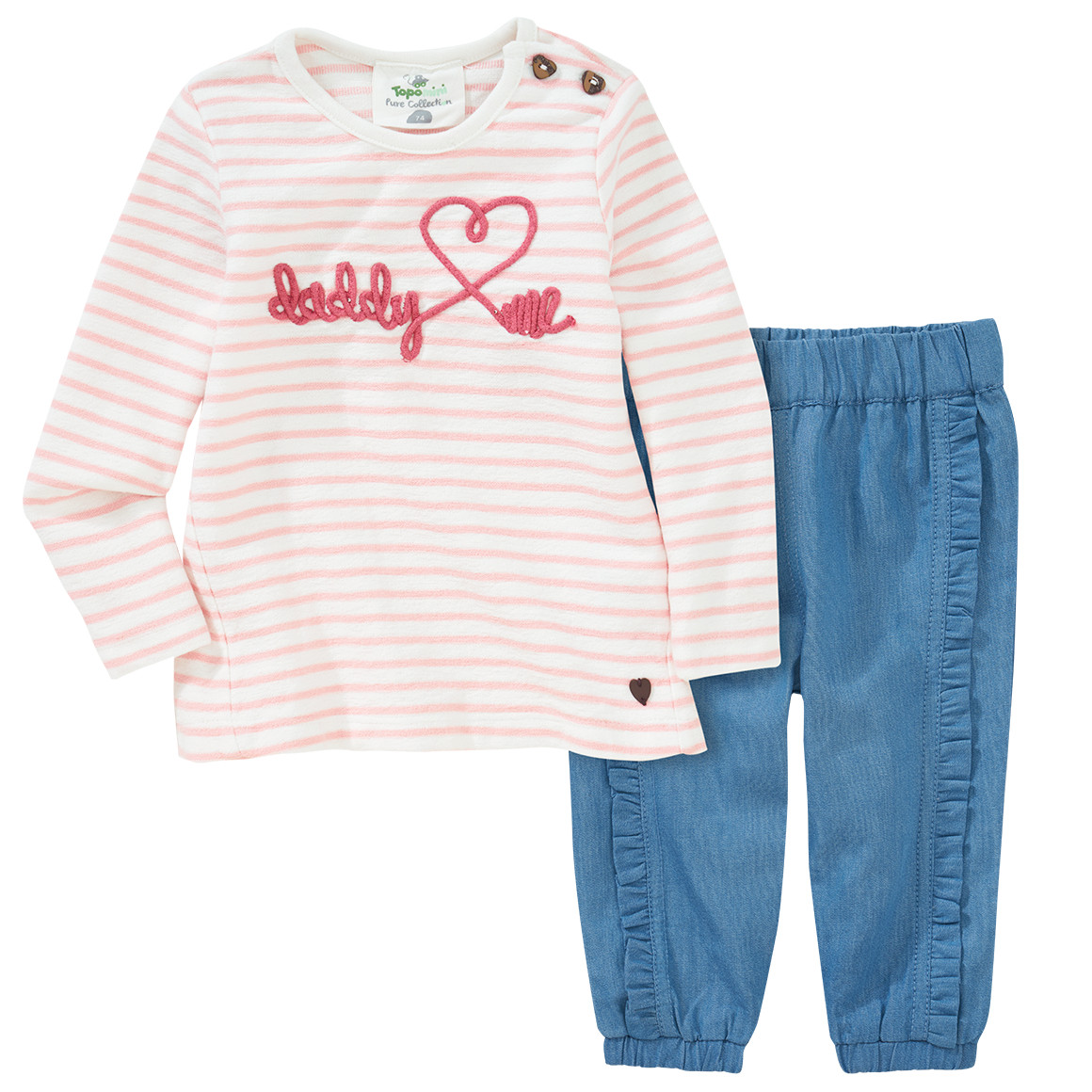 Babysets - Baby Langarmshirt und Hose im Set - Onlineshop Ernstings family