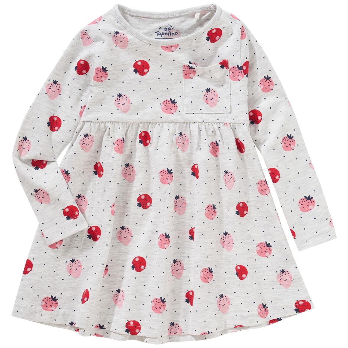 Minigirloberteile - Mädchen Langarmshirt mit ausgestelltem Hänger - Onlineshop Ernstings family