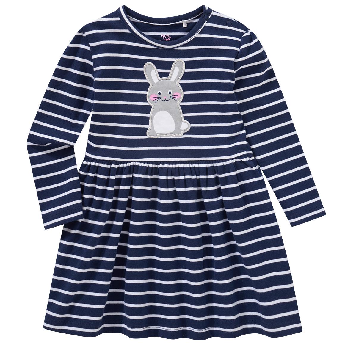 Babykleiderroecke - Baby Kleid mit Hasen Applikation - Onlineshop Ernstings family