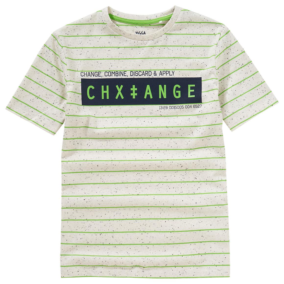 Boysoberteile - Jungen T-Shirt im Melange Look - Onlineshop Ernstings family
