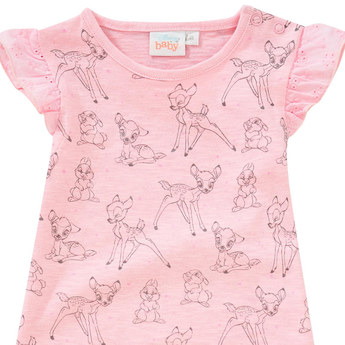 M/ädchen Kurze /Ärmel T Shirt Bambi Baby