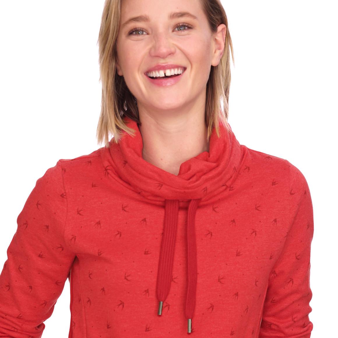 Damen Sweatshirt mit Schwalben allover | Ernsting's family