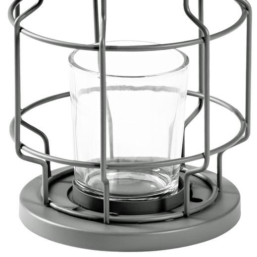 laterne aus metall mit teelichthalter ernsting 39 s family. Black Bedroom Furniture Sets. Home Design Ideas