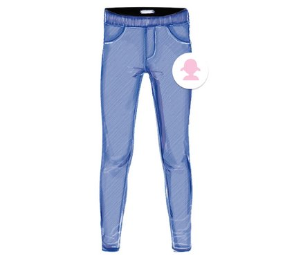 Kinder Jeggings Jeans