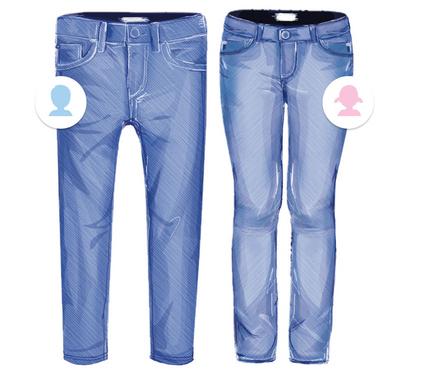 Kinder Slim Jeans