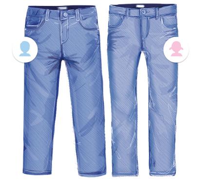 Kinder Straight Jeans
